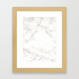 Marble by Hand Framed Art Print