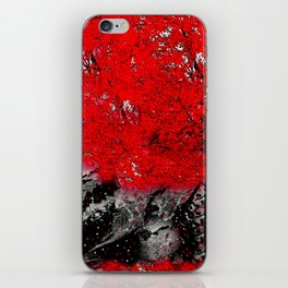 TREE RED WOLF iPhone Skin