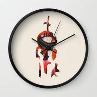 knight Wall Clocks featuring Knight by Sascha Rinaldi