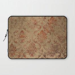 Aged Damask Texture 1 Laptop Sleeve