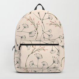 think floral Backpack