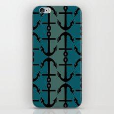 Ocean Anchors iPhone & iPod Skin