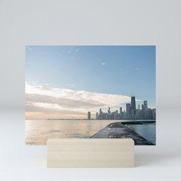 One December in Chicago Mini Art Print