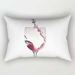 Relax, there's wine! Rectangular Pillow