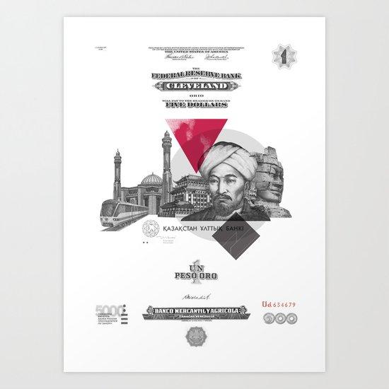 Mistero Art Print