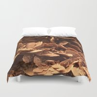 oklahoma Duvet Covers featuring Oklahoma Gypsum  by UMe Images