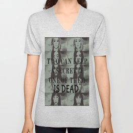 Two can't keep a secret Unisex V-Neck