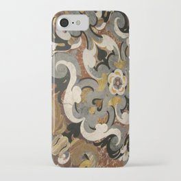 Marble Filigree iPhone Case