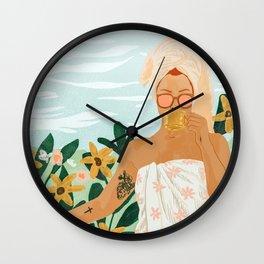 Earl Grey Wall Clock