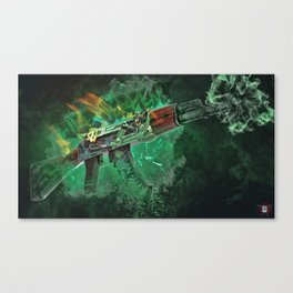 Machine Gun 3 Canvas Print