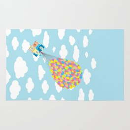 Up! On Clouds Rug