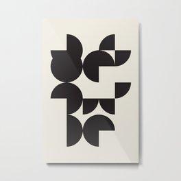Wall Art Print | Apartment Decor Living Room Modern Art Retro Print Wall Art Print Geometric Abstrac Metal Print