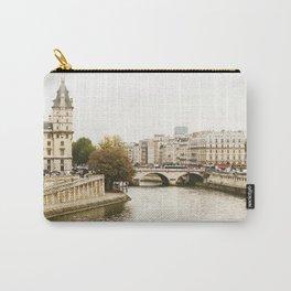 Le Seine River in Paris. Carry-All Pouch
