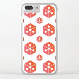Lunyr - Crypto Fashion Art (Large) Clear iPhone Case