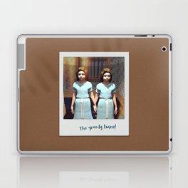 The greedy twins! Laptop & iPad Skin