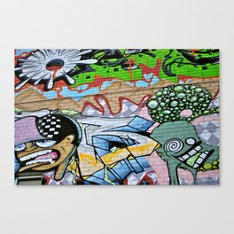 Street Art. Canvas Print
