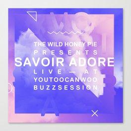 Savoir Adore Buzzsession Cover Art Canvas Print