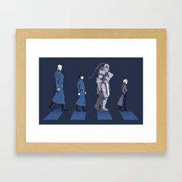 Central Road Framed Art Print