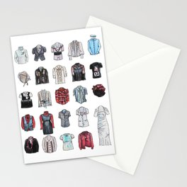 Clothes For Large Colonial Dolls Stationery Cards