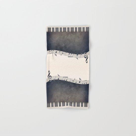 Piano Hand & Bath Towel