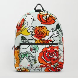 Flower girls Backpack