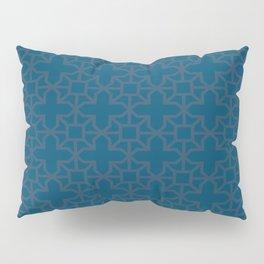 Navy Morrocan Pillow Sham