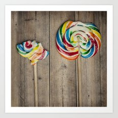 Life of a Lollipop Art Print