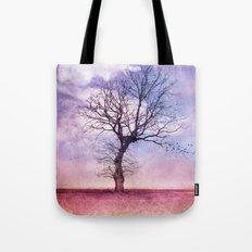 ATMOSPHERIC TREE | Early Spring Tote Bag