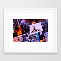 lobster Framed Art Prints featuring Lobster by Javier Perello