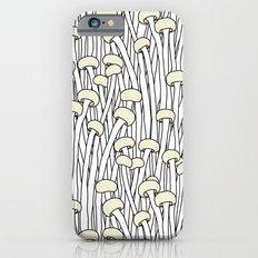 Enokitake Mushrooms (pattern) Slim Case iPhone 6s