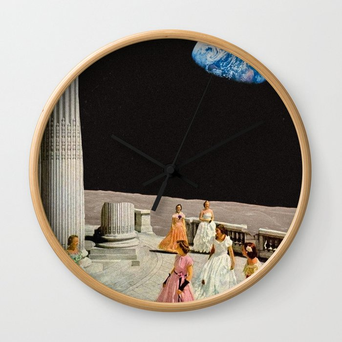 Ulysses Wall Clock By Thomeaston Society6