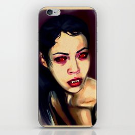 Her Name Is Blue iPhone Skin