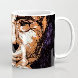 Thinking man portrait Coffee Mug