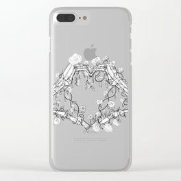 Our Love is Forever Clear iPhone Case