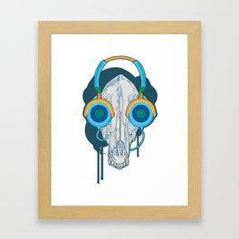 Tune of Teal Framed Art Print