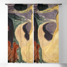 Edvard Munch - Separation Blackout Curtain