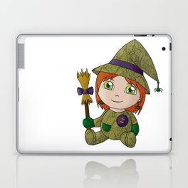 Little Witch Doll Laptop & iPad Skin