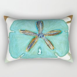 Sand Dollar Star Attraction Rectangular Pillow