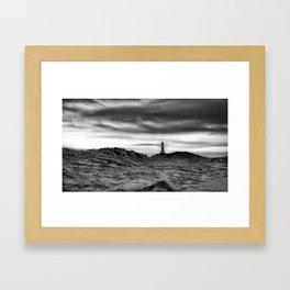 Lighthouse_Iceland Framed Art Print