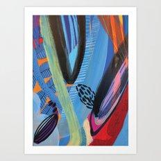 Drops III Art Print