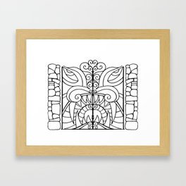 Threshold Guardian Framed Art Print