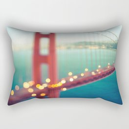 Meet Me In San Francisco Rectangular Pillow