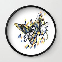 Cupid Greek God Wall Clock