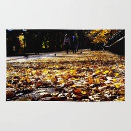 Central Park Leaves Rug