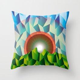 Cerro De la Silla© Throw Pillow