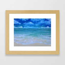 Florida Water Framed Art Print
