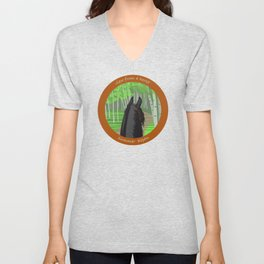 view from a horse SUMMER ASPEN Unisex V-Neck