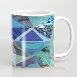 Collage - So Blue Coffee Mug