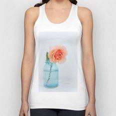 Rose in a Jar Unisex Tank Top