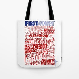 The First Amendment Tote Bag